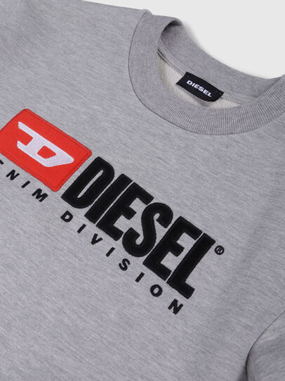 Diesel - SCREWDIVISION OVER, Gris - Pull Cotton - Image 3