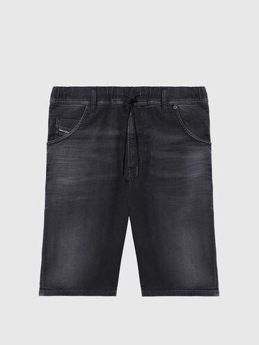 Short slim en JoggJeans® légèrement traité