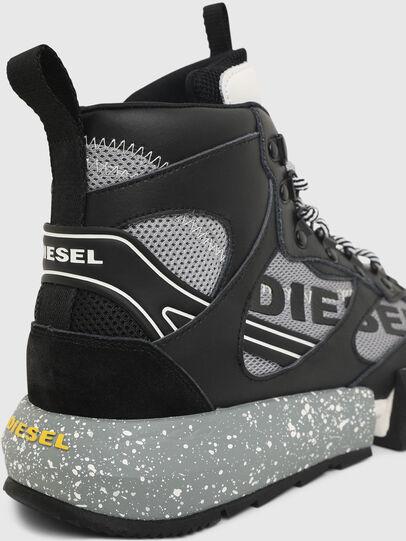 Diesel - S-PADOLA MID TREK, Noir/Gris - Baskets - Image 5