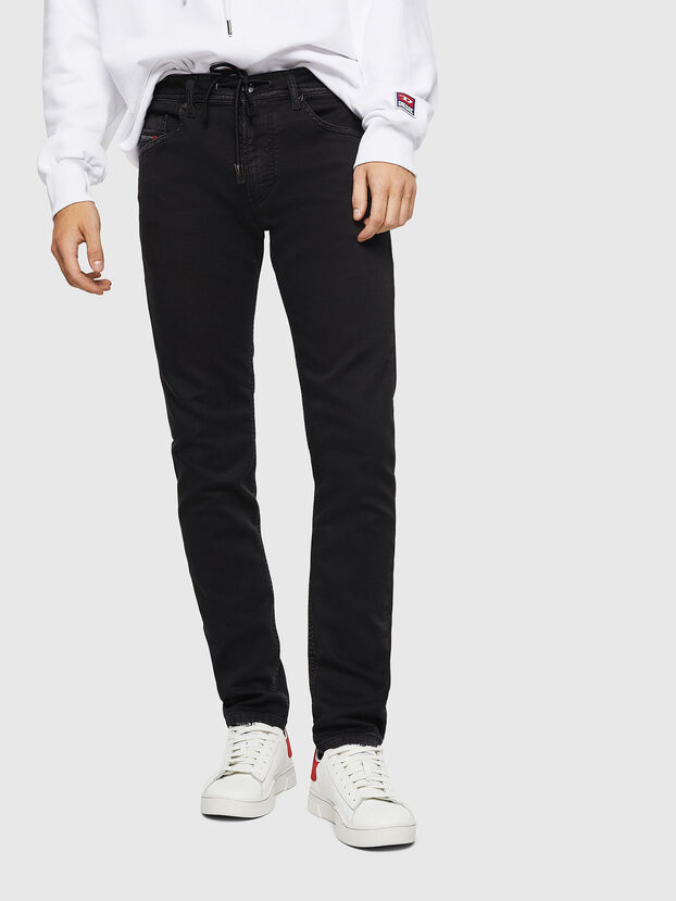 Thommer JoggJeans 0687Z, Noir/Gris foncé - Jeans