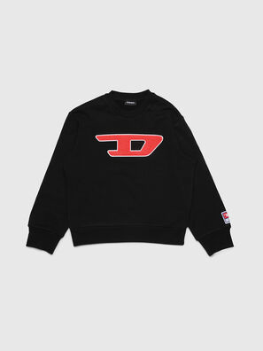 SCREWDIVISION-D OVER, Noir - Pull Cotton