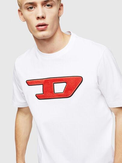 Diesel - T-JUST-DIVISION-D, Blanc - T-Shirts - Image 3
