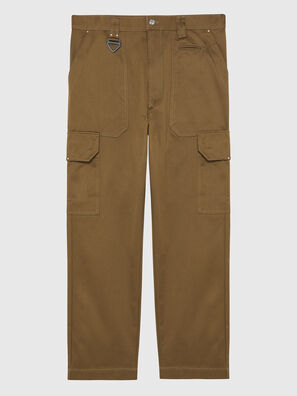 P-BAKER, Marron - Pantalons