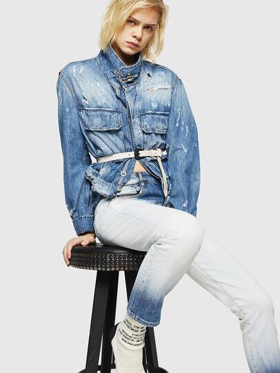 Diesel - D-Rifty 084AR, Bleu Clair - Jeans - Image 4