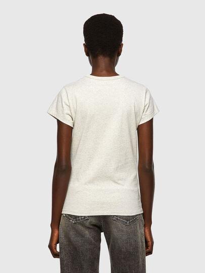 Diesel - T-SLICUP, Gris Clair - T-Shirts - Image 2