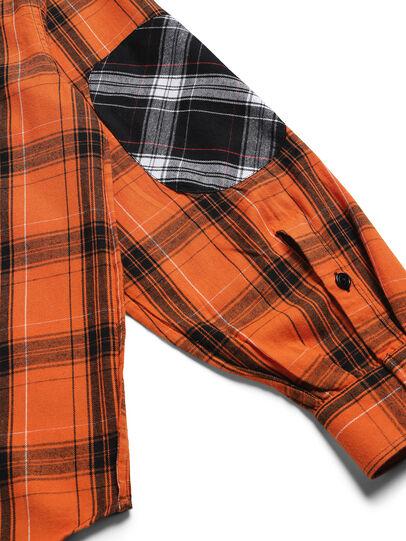 Diesel - D-ANORACHECK, Orange - Chemises - Image 5