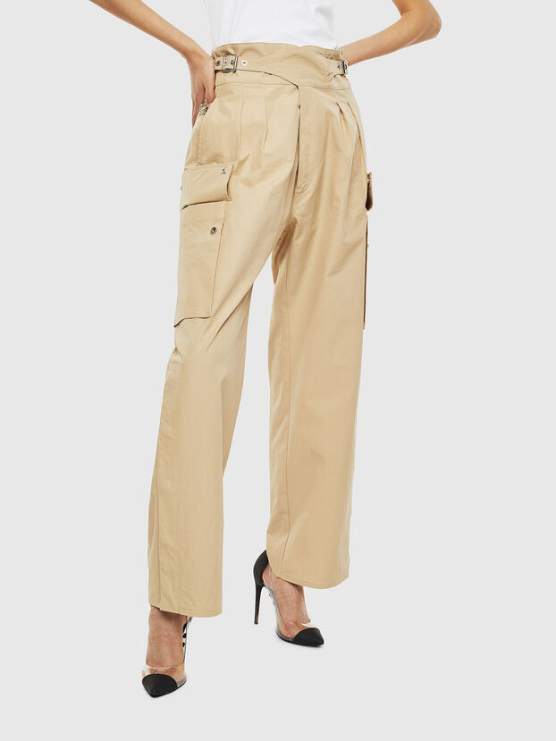 P-MARIE, Beige - Pantalons