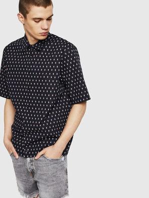 S-FRY-SKULL, Noir - Chemises