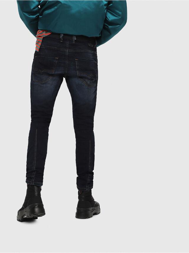 Diesel - Krooley JoggJeans 069DQ, Bleu Foncé - Jeans - Image 2