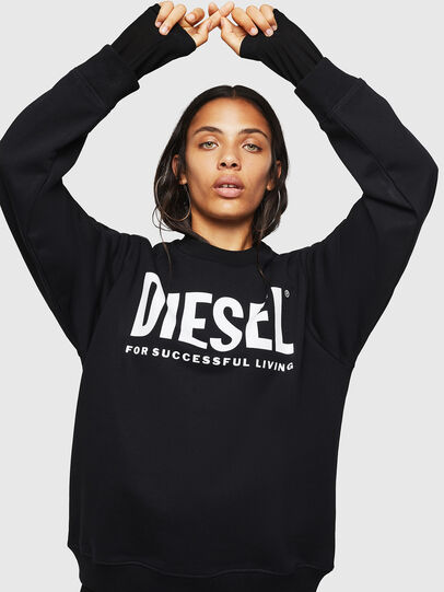 Diesel - F-ANG, Noir - Pull Cotton - Image 1