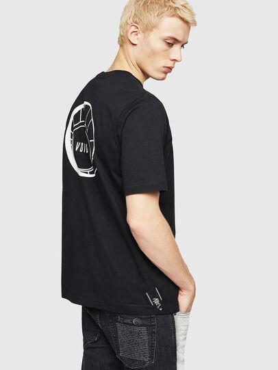 Diesel - T-JUST-A8, Noir - T-Shirts - Image 2