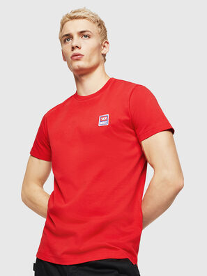 T-DIEGO-DIV, Rouge Flamme - T-Shirts
