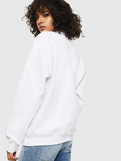 Diesel - F-ANG-S1, Blanc - Pull Cotton - Image 2