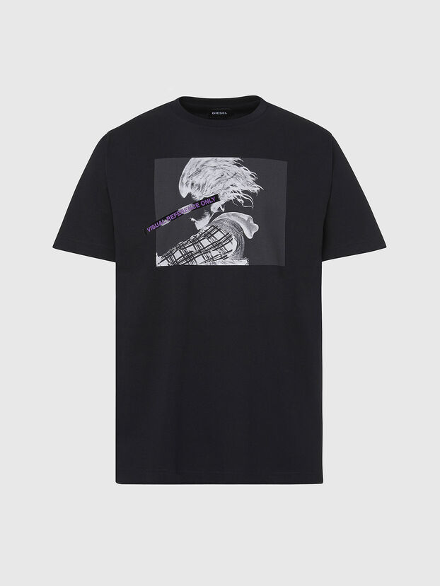 T-TUBOLAR-X20, Noir - T-Shirts