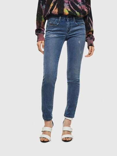 Diesel - D-Ollies JoggJeans 069MC, Bleu moyen - Jeans - Image 1