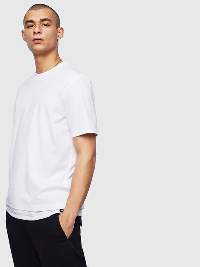 Diesel - T-GLASSY, Blanc - T-Shirts - Image 1