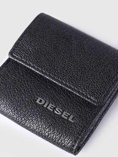 Diesel - KOPPER, Cuir Noir - Petits Portefeuilles - Image 3
