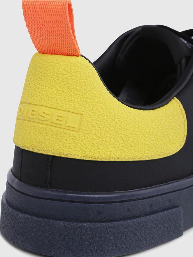 Diesel - S-CLEVER LOW, Noir/Jaune - Baskets - Image 5