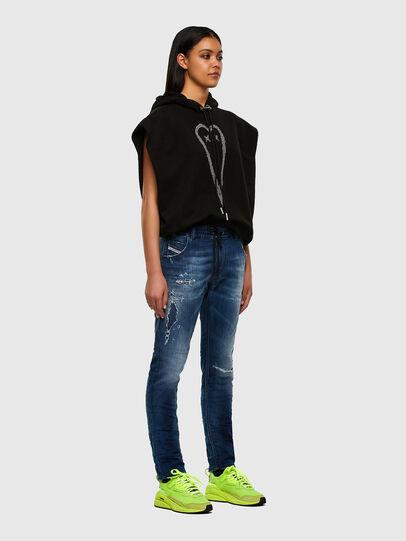 Diesel - Krailey JoggJeans 069PL, Bleu Foncé - Jeans - Image 7