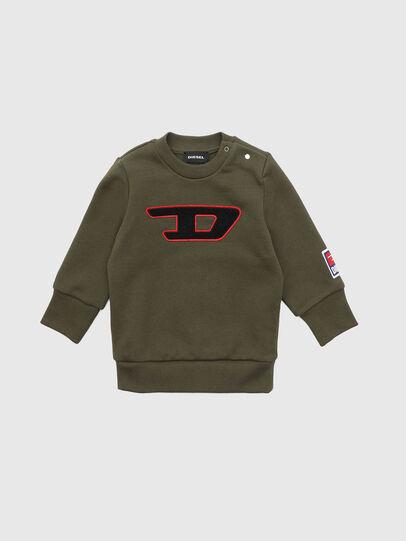 Diesel - SCREWDIVISIONB-D, Vert Militaire - Pull Cotton - Image 1