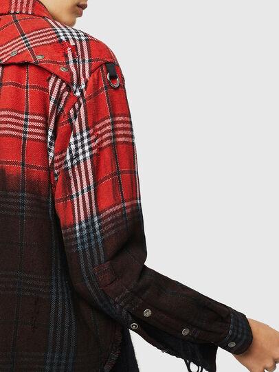 Diesel - C-SUPER-G, Rouge/Noir - Chemises - Image 5