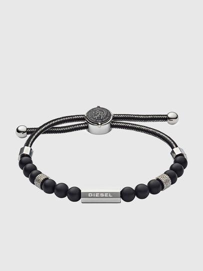 Diesel - DX1151, Noir/Gris argenté - Bracelets - Image 1