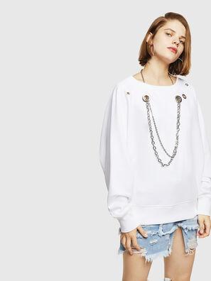 F-HENNY-B, Blanc - Pull Cotton