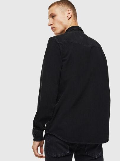 Diesel - D-EAST-P, Noir - Chemises en Denim - Image 2