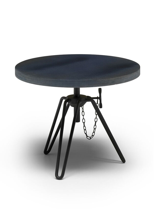 Diesel - DL0F04 OVERDYED, Noir/Bleu - Bas Tables - Image 1