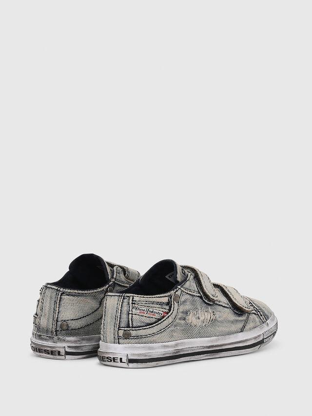 Diesel - SN LOW 11 STRAP  DEN, Jean Gris - Footwear - Image 3
