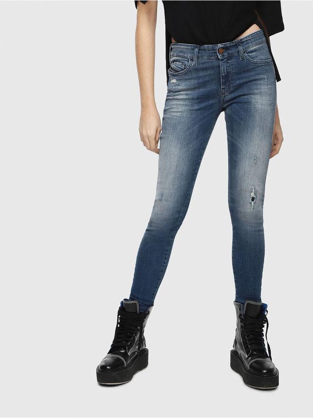 Diesel - Slandy 084MU, Bleu moyen - Jeans - Image 1