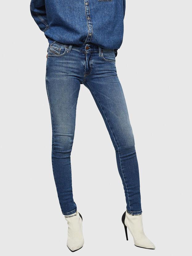 Slandy Low 083AN, Bleu moyen - Jeans