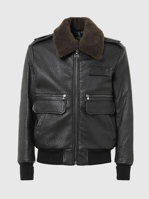 L-FRED, Noir - Vestes de cuir