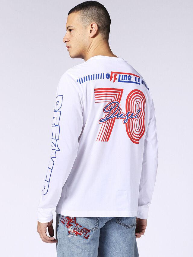 T-JOE-LS-SC, Blanc