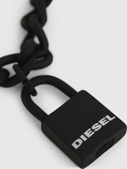 Diesel - A-NEZED, Noir - Bijoux et Gadgets - Image 2
