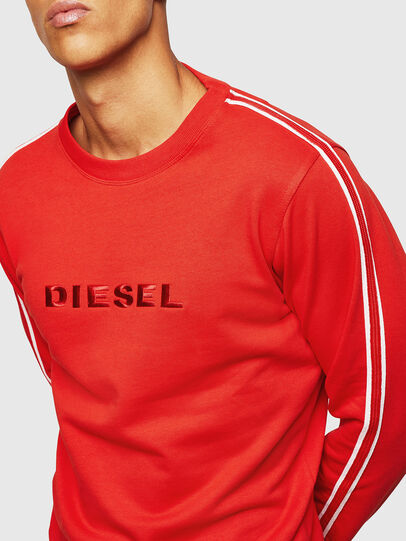 Diesel - UMLT-WILLY, Rouge - Pull Cotton - Image 4