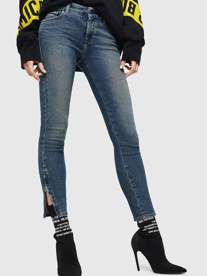 Diesel - Slandy Zip 083AL, Bleu moyen - Jeans - Image 4