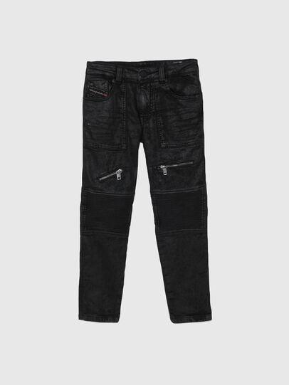 Diesel - D-DERROT-SP-J JOGGJEANS, Noir - Jeans - Image 1