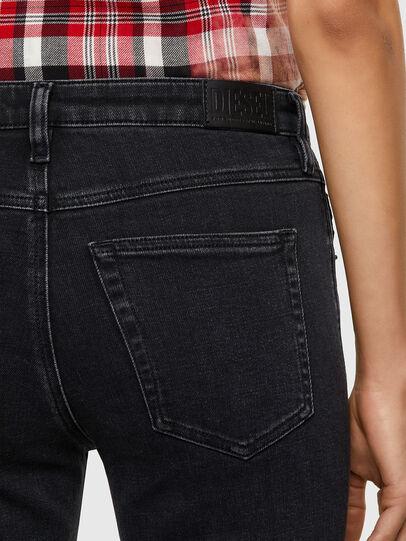 Diesel - Babhila 0870G, Noir/Gris foncé - Jeans - Image 4
