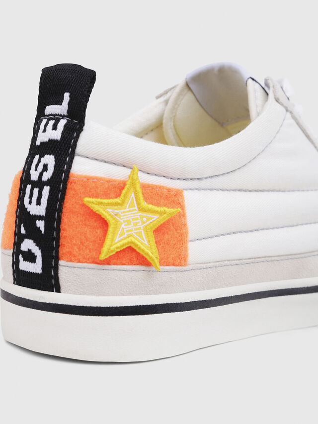 Diesel - D-VELOWS LOW PATCH, Blanc - Baskets - Image 4
