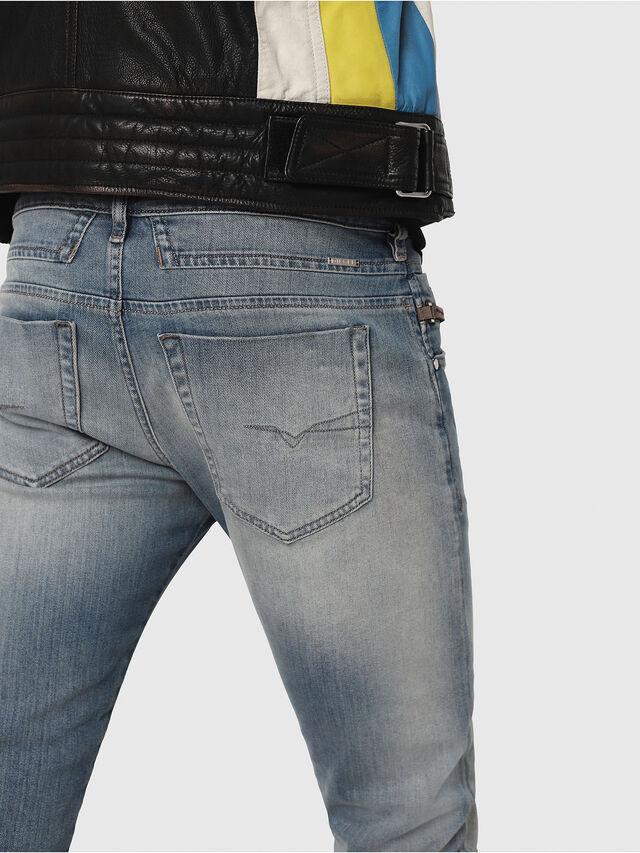 Diesel - D-Bazer 081AP, Bleu Clair - Jeans - Image 4
