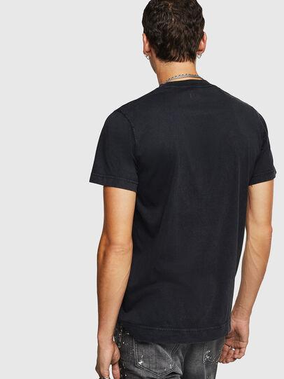Diesel - T-THURE, Noir - T-Shirts - Image 2
