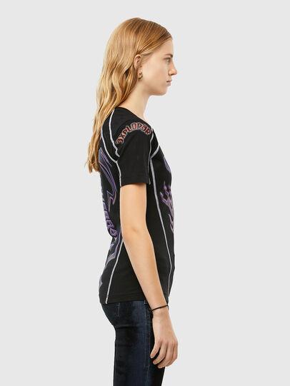 Diesel - T-TAJO, Noir - T-Shirts - Image 3