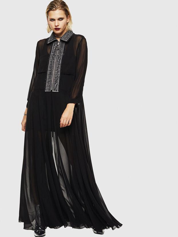 D-RAHAN-A, Noir - Robes