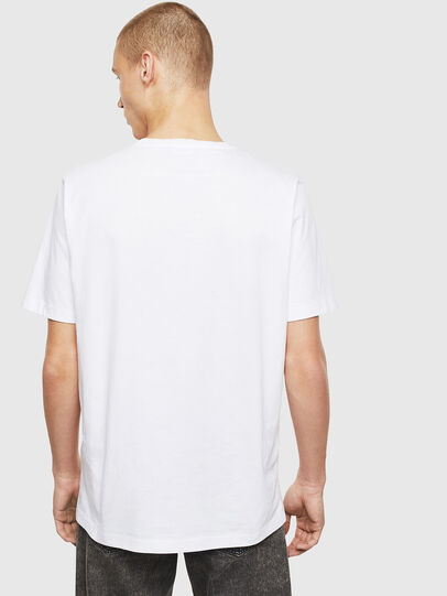 Diesel - T-JUST-T26, Blanc - T-Shirts - Image 2