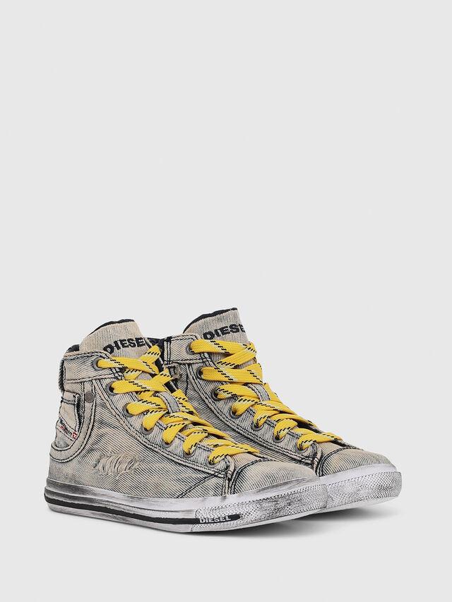 Diesel - SN MID 20 EXPOSURE C, Jean Gris - Footwear - Image 2