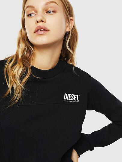 Diesel - UFLT-VICTORIAL, Noir - Pull Cotton - Image 3