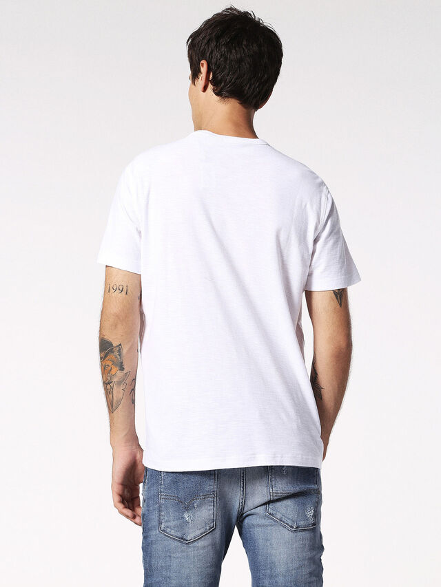 Diesel - T-TERRENCE, Blanc - T-Shirts - Image 2