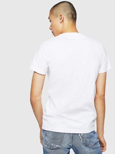 Diesel - T-DIEGO-B3, Blanc - T-Shirts - Image 2