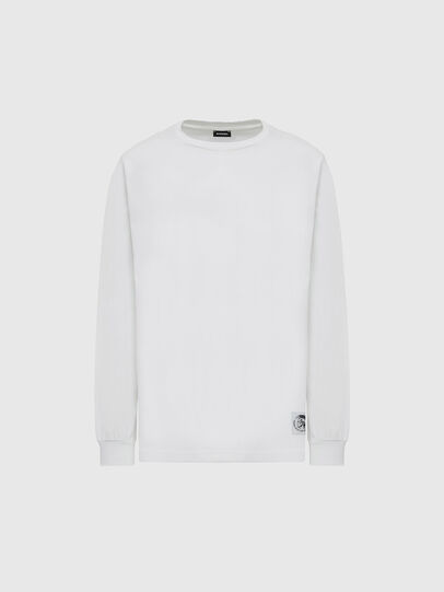 Diesel - T-JUST-LS-MOHI, Blanc - T-Shirts - Image 1